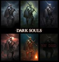 Dark Souls colors by Samarskiy