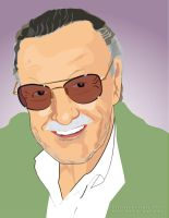 Stan 'the Man' Lee by chetmeister
