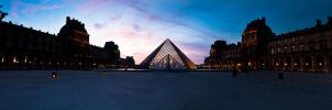 louvre panoramic by LeMex