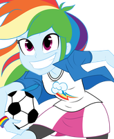 Equestria Girls Rainbow by tyler611