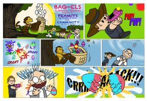 It's the Easter Monkey Britta Perry PROLOG by BRENDANSULEIMAN