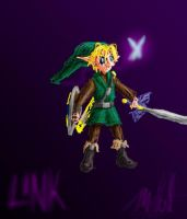 Scribble Link by cheddarpaladin