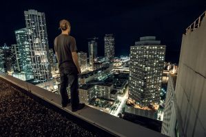 Rooftop Ledge by 5isalive