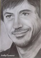 Robert Downey Jr. by ARTBYTAMARA