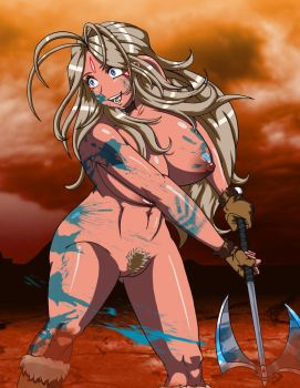 Savage Belldandy of Mars by TFcommando