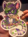 LaCienega badge for tigergirl1615 (gift) by SilentWings1995