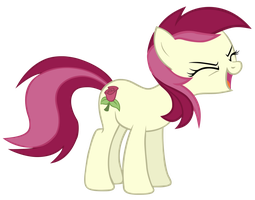 Roseluck Yay! by AceRome