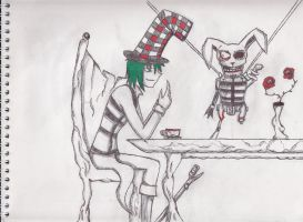 Matthew as The Mad Hatter by Dante6499