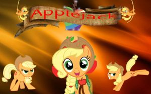 Applejack Wallpaper by Macgrubor