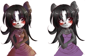 AdoptCharacter001 female panda by Sancosity