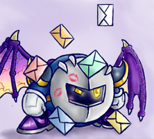 I... Have a lot of messages... by Ask-MetaKnight
