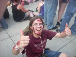 Zombie March VII- tired zombie by Shadow-Lockheed