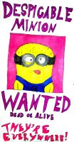 WANTED for Being DESPICABLE by InkArtWriter