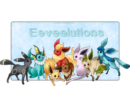 Eeveelutions by kawaiipikachu12