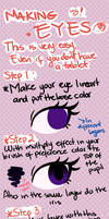 Easy Eyes Tutorial by CosmicPonye