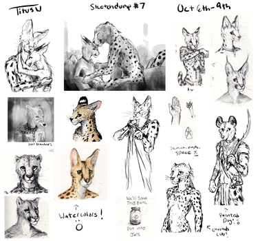 Sketchdump #7 by TitusW