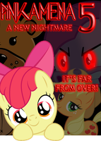 Pinkamena 5: A New Nightmare POSTER by GameCommentaries