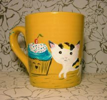 Kittens and Cupcakes - Mug for sale by InkyDreamz