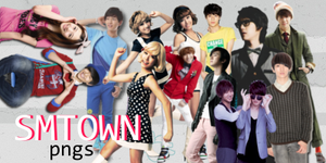 SM TOWN PNGs by superseoul11