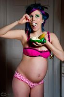 pin-up maternity by RainbowCupcakeMarie