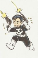 The Punisher by AmberStoneArt