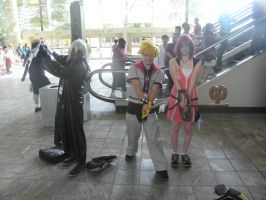 Otakon 2013 - Kingdom Hearts 2 by mugiwaraJM