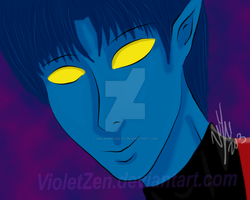 Nightcrawler by VioletZen