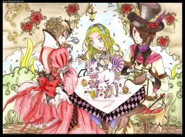 Mad Tea Party by jazzy1205
