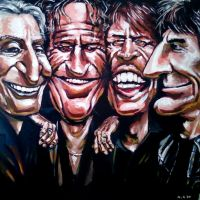 The Rolling Stones by soljwf98