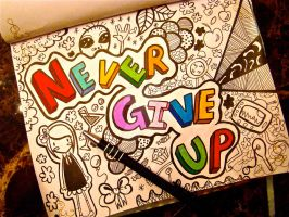 .Never Give Up. by Venis-Ivy