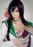 Saeko Busujima cosplay Blood by Lyriel-Rangiku