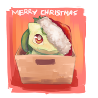 Christmas Bulbasaur by Joltik92