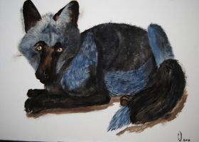 Blue Foxy AT by TheBlueGuardian