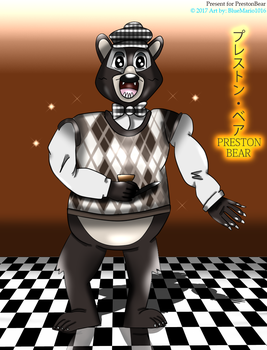 A bearly friendly greeting by BlueMario1016
