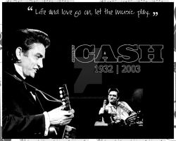 The Legend of Johnny Cash by shellyllauer