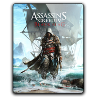Assassin's Creed IV BlackFlag gameicon by Ahssassin0