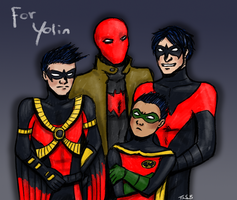 Robins for Yolin by Super-kip