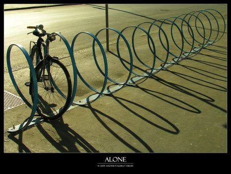 Alone by bupo