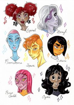 The Gem Bunch by d0nkarnage