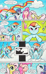 Two Rainbow Manes - page 2 by kittyhawk-contrail