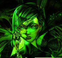 Fairy of the Absinthe by Elizabethjunean