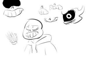 Sans Sketch by WickedHex