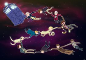 In memory - Dr Who by Che-Crawford
