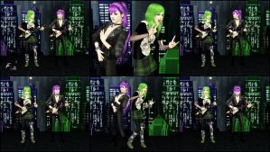 Gakupo and Gumi - Rock n Roll Time by ng9