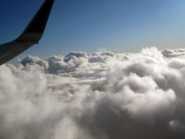 Flying Over Cloud 9 by FlyingPheonix
