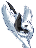 Mega Absol by Kiviniik-adopts