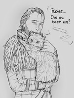 Can we keep him? by NehturhiaGowad