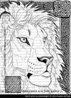 Celtic Lion - Lions Project by synnabar