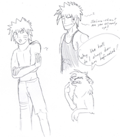 naruto sketches 16 by wolffuchs