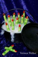 Halloween Finger Cookies by Verusca